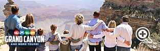 Discount Grand Canyon and Hoover Dam bus tour discounts up to $85 OFF!