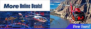 Remise en hélicoptère au Grand Canyon et à Las Vegas!