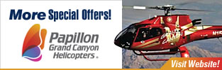 Special Papillon Offers and Discount Grand Canyon Tours