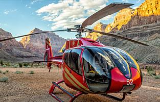 Grand Canyon Celebration Helicopter Landing Tour + Picnic + Limo + Strip tour