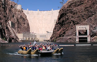 Hoover Dam Helicopter Tour Black Canyon River Raft tour