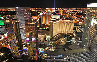 Las Vegas Strip Helicopter Night Flights
