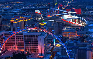 Cheap Las Vegas Night Strip Helicopter Night Flights