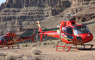 Grand Canyon Over The Edge Helicopter Landing Tour